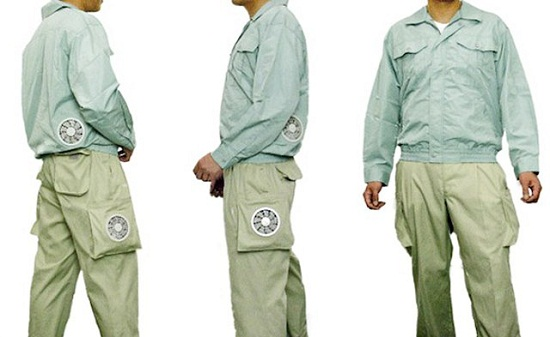 Air-Conditioned Cooling Pants keep you breezy on a hot summer's day