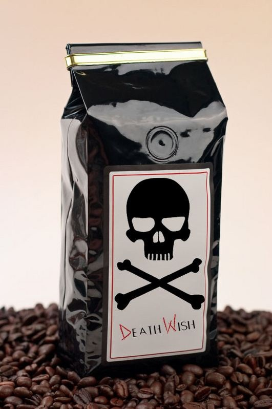 Death Wish Coffee Is Not For The Faint Of Heart