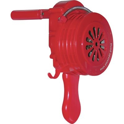 Vestil Hand Crank Siren is a surefire attention grabber