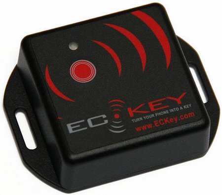 eckey 1 Turn your cell phone into a universal door key with an ECKey Bluetooth Access Control Unit