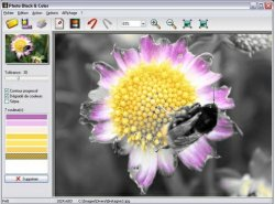 Photo Black & Color adds art to your photos [Freeware]