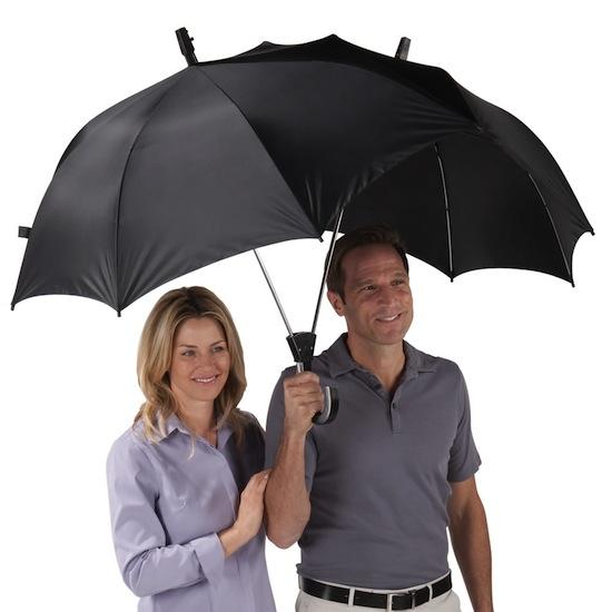Dualbrella will make you the hero on a rainy day