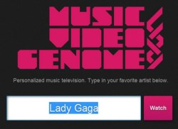 Music Video Genome delivers personalized music television