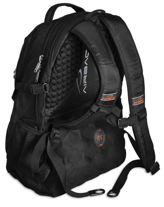 AirBac Backpack keeps you from feeling like a pack mule