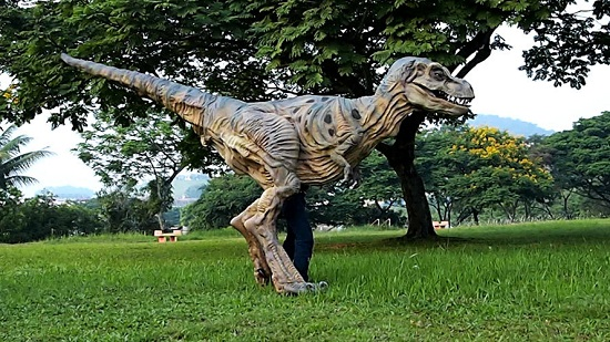 Life Size Baby T-Rex will scare all the trick-or-treaters away