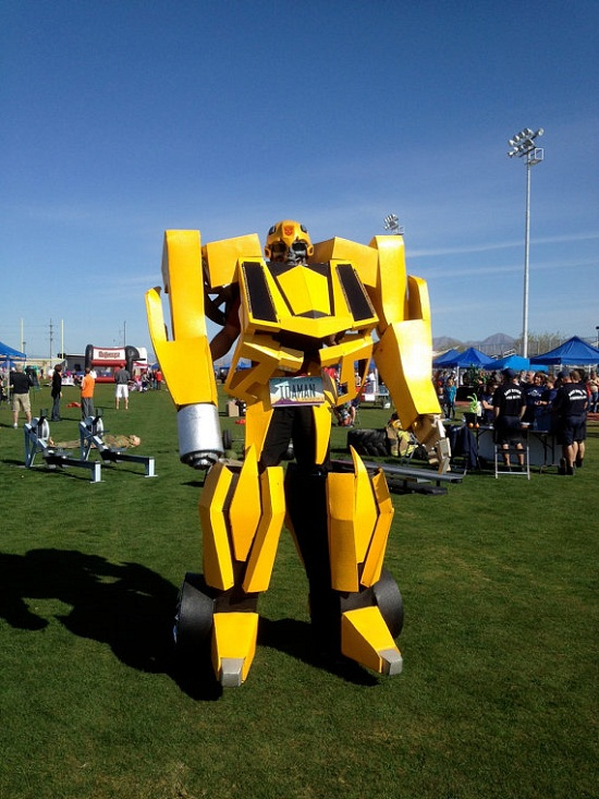 Bumblebee Costume stands above the rest