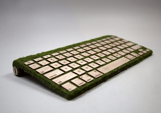 Natural Keyboard puts mother nature at your finger tips