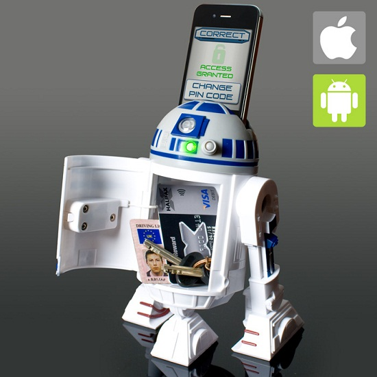 Star Wars R2D2 Smart Safe keeps Imperial scum from touching your stuff
