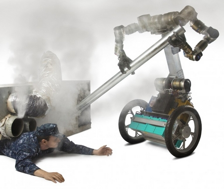 A Macgyver robot could help save the day in future disasters