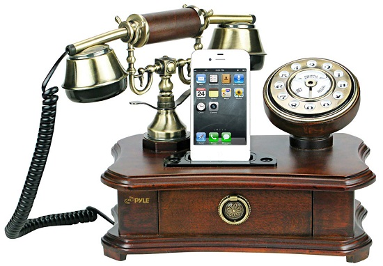 Pyle Steampunk Home Telephone brings in an antique look with a modern touch