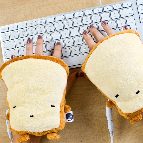 Toast Hand Warmers USB Toast Hand Warmers are thermal hand hugs