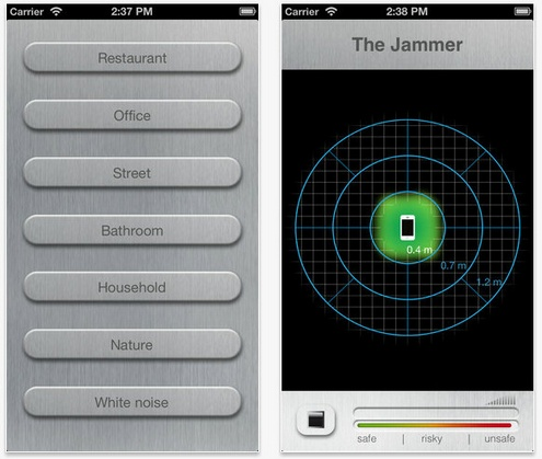 Jammer – keep your conversations private wherever you are