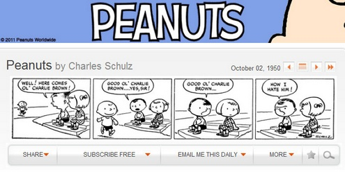 peanuts Peanuts   every episode of the legendary comic in one spot, for free