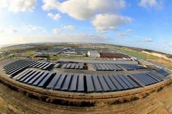 Renault bets big on solar power