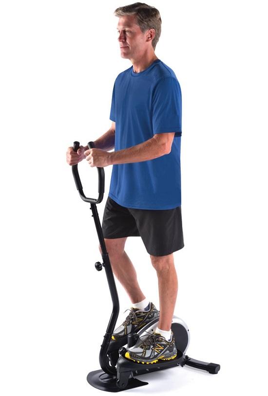 Compact Elliptical Trainer – no pain, no gain!