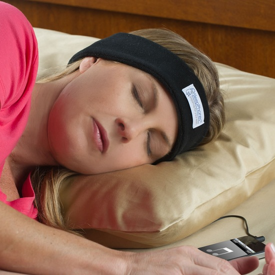 Calm your nerves and ease your mind with the Sleep Assisting Music Headband