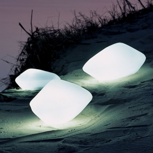 Stone Outdoor Lamp will light up your life…for a price