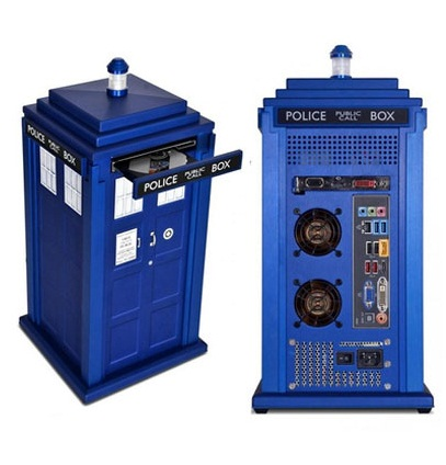 Tardis PC Doctor Who TARDIS PC – Is it bigger on the inside?