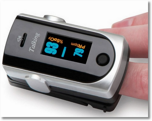 Talking Heart Rate Monitor – promises not to scare you with problems