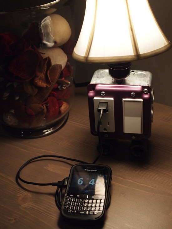 The Lamp Usb Charging Station Is The Little Lamp That