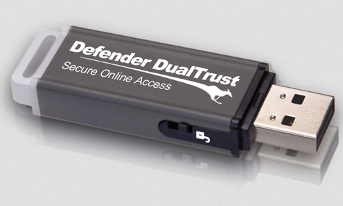 Kanguru Defender DualTrust – carry around your own ultra safe web browser on a keyring