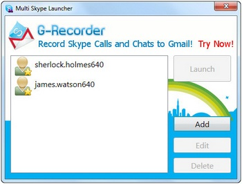 Multi-Skype Launcher lets you run multiple Skype accounts simultaneously [Freeware]