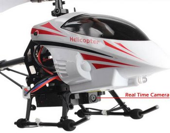 Real Time Video Helicopter lets you use your phone for some fun snooping