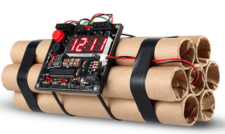 usbtimebombalarmclock1 USB Time Bomb Alarm Clock   items not to pack in your aircraft carry on...Part VIII
