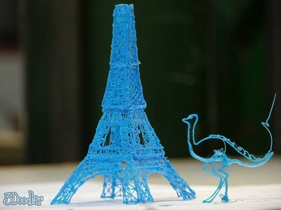 3Doodler is a pen that doesn't need paper