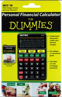 Victor Financial Calculator For Dummies – sort yourself out son, right now…