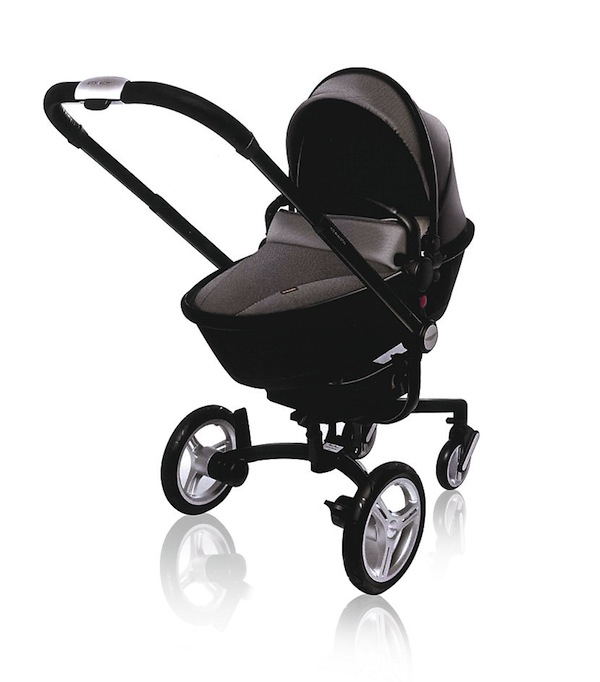 Who doesn't need an Aston Martin baby stroller?