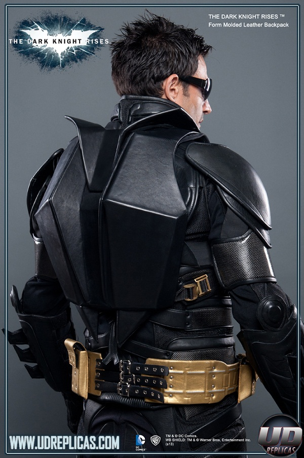 Batman Batpack – because a utility belt is too obvious
