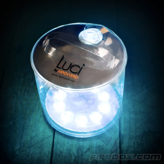 Luci Inflatable Solar Lantern will light up the night