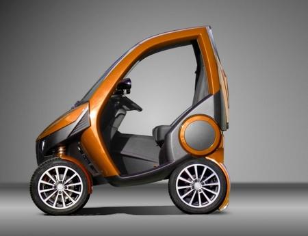 The Casple-Podadera – a fold-up mini-car
