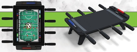 Foosball Table for your iPad – Bring the action!