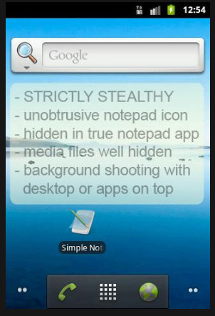 Mobile Hidden Camera – free Android app turns your phone into the ultimate stealthy spy cam [Freeware]