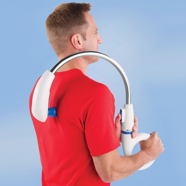 Ergonomical Back Massager beats a back scratcher any day