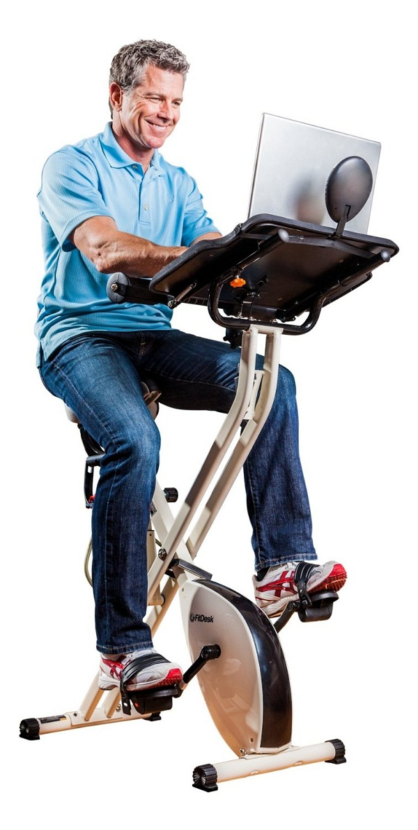 FitDesk X1 Fold-up bicycle