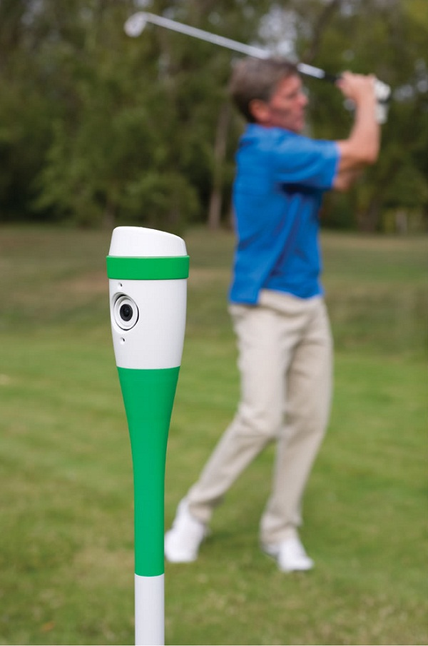 Golf Swing Recording Video Camera – watch and learn, grasshopper