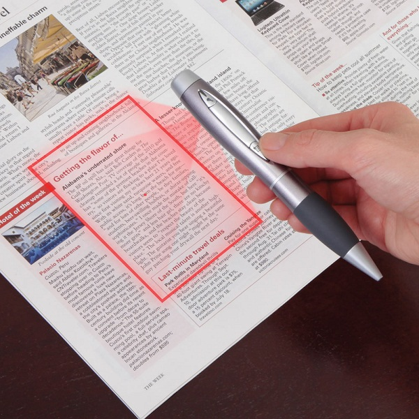Pen-Sized Scanner will aid you in being a super-spy
