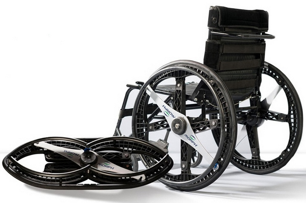 Morph Wheels – could these amazing folding wheels revolutionize the personal transport business?