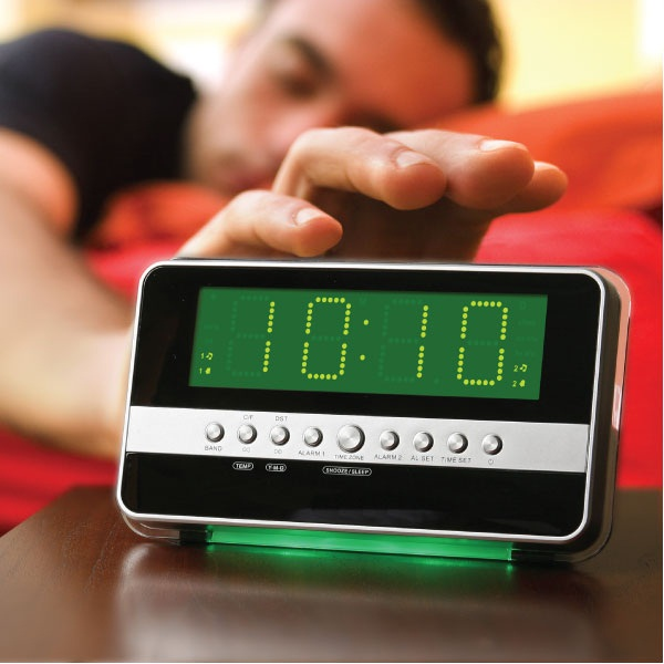 motion alarm clock