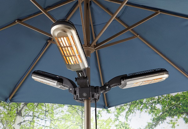 Umbrella Pole Patio Heater – Have it made in the shade