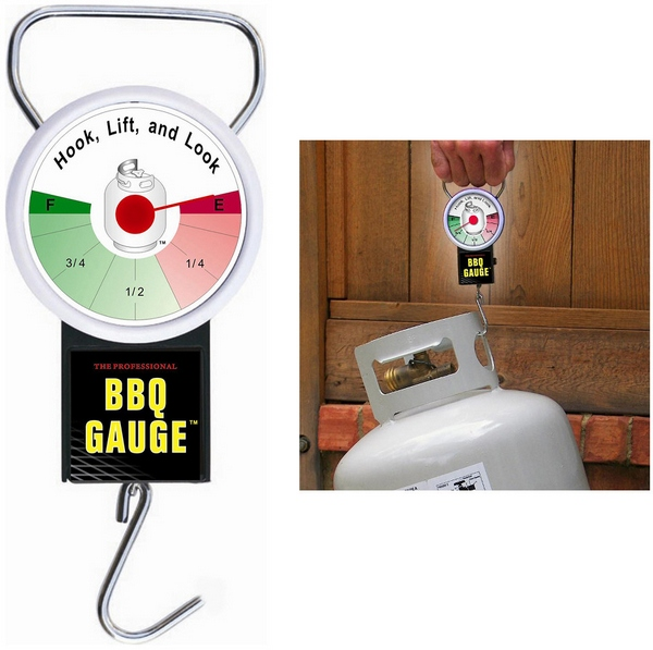 BBQ Gas Bottle Gauge – keep track of your remaining gas instantly and save backyard embarrassment