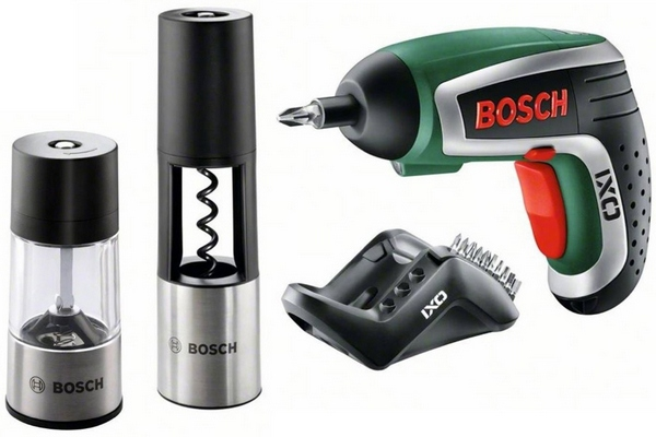 Bosch IXO Gourmet – the power screwdriver which keeps you in touch with your feminine side