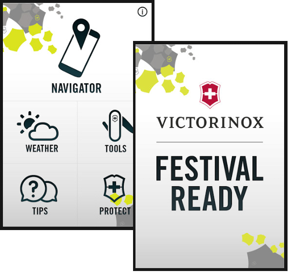 Victorinox Festival Ready – everything you need to survive a festival on your phone [Freeware]