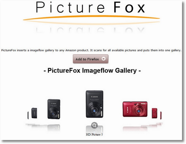 Picture Fox for Amazon – brilliant Firefox plugin makes Amazon shopping so much nicer [Freeware]