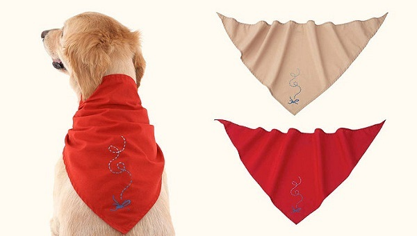 Insect Shield Dog Bandana – when the pests are away, pups will play