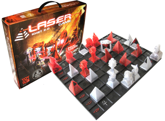 Khet is a logic game that will bend your mind…and lasers