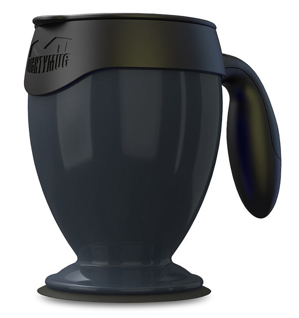 If you're clumsy with coffee, try the Mighty Mug